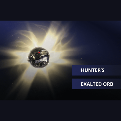 Buy POE Hunter's Exalted Orb Currency