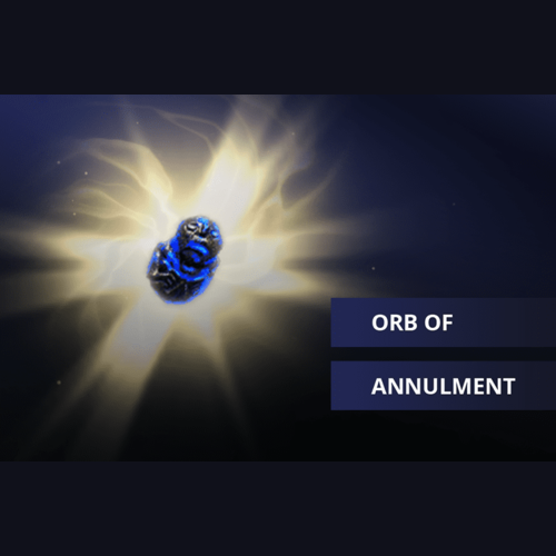 Buy POE Orb of Annulment Currency