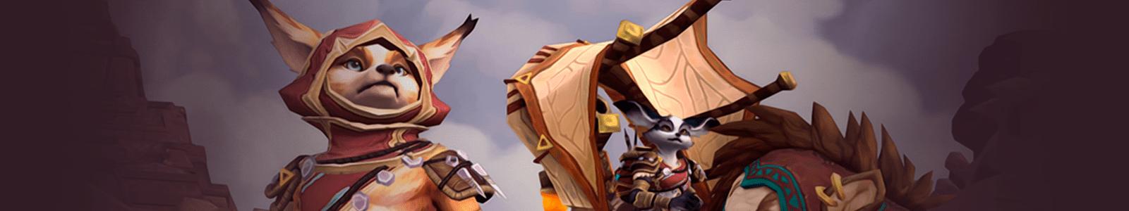 Vulpera Heritage Armor Leveling